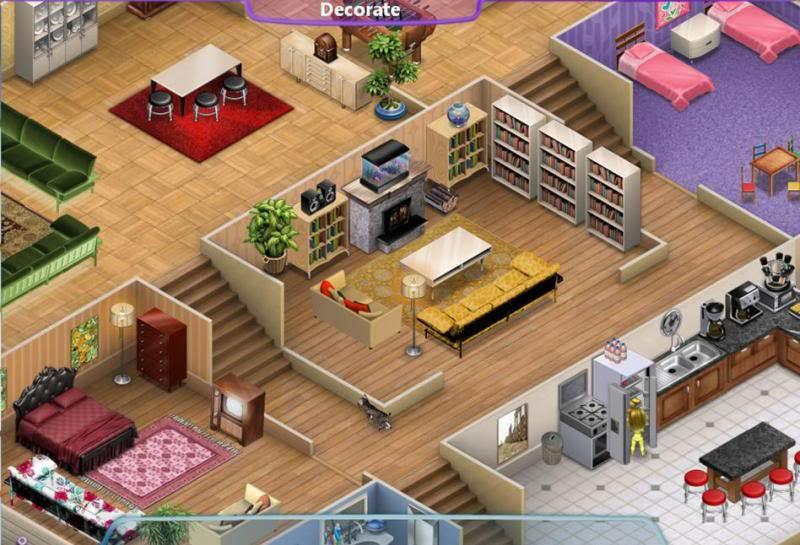 Virtual families 2 girl games town for Virtual families 2 decoration
